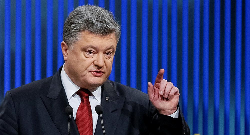 Petro Poroshenko demands sanctions for the agreement reached between Ukraine andGazprom