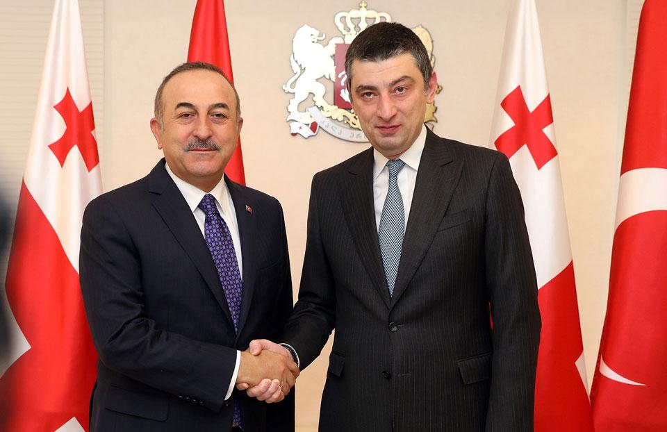 ГеоргийГахария-Мы ценим особые отношения с Турцией и приветствуем углубление стратегического партнерства