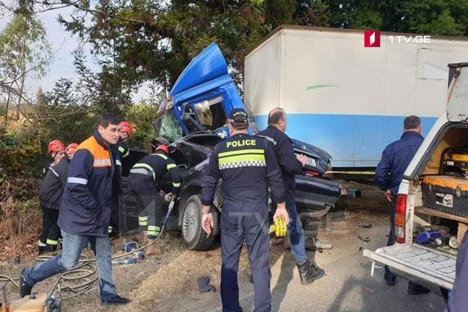ქობულეთი-ოზურგეთის გზაზე ავარიის შედეგად ოთხი ადამიანი დაიღუპა