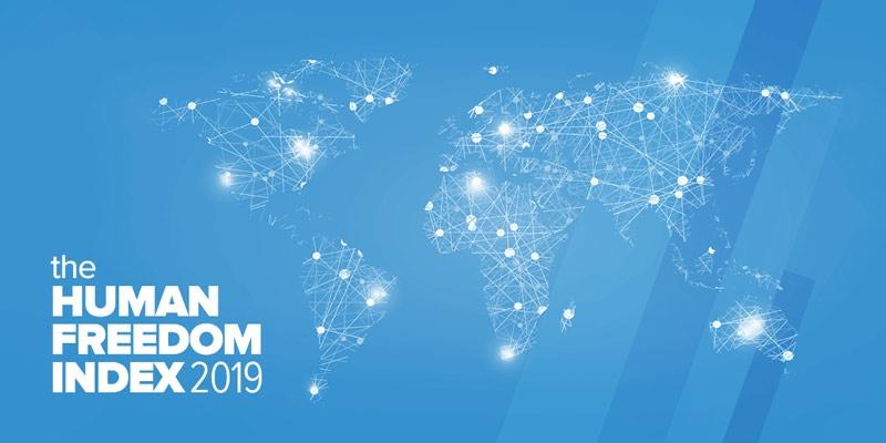 ადამიანის თავისუფლების ინდექსის მიხდვით, საქართველო მსოფლიოს 162 ქვეყანას შორის 41-ე ადგილს იკავებს