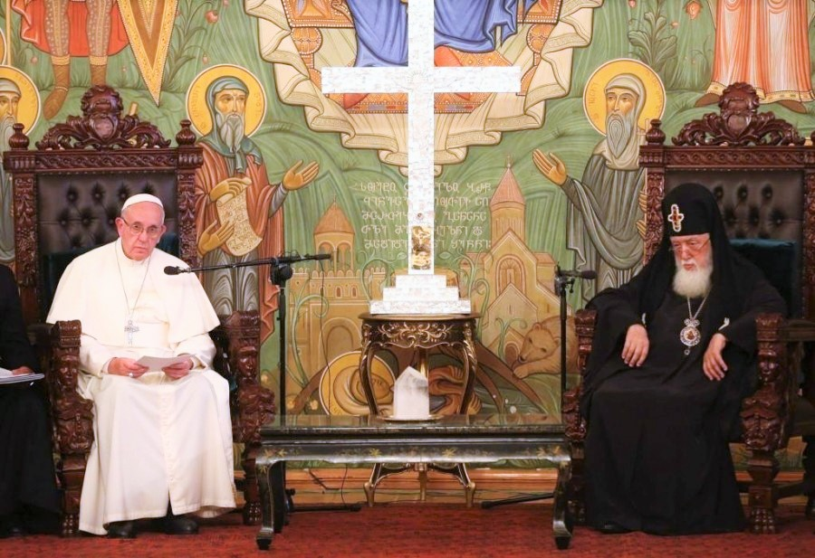 Pope of Rome invites Georgian Patriarch to the Vatican next year