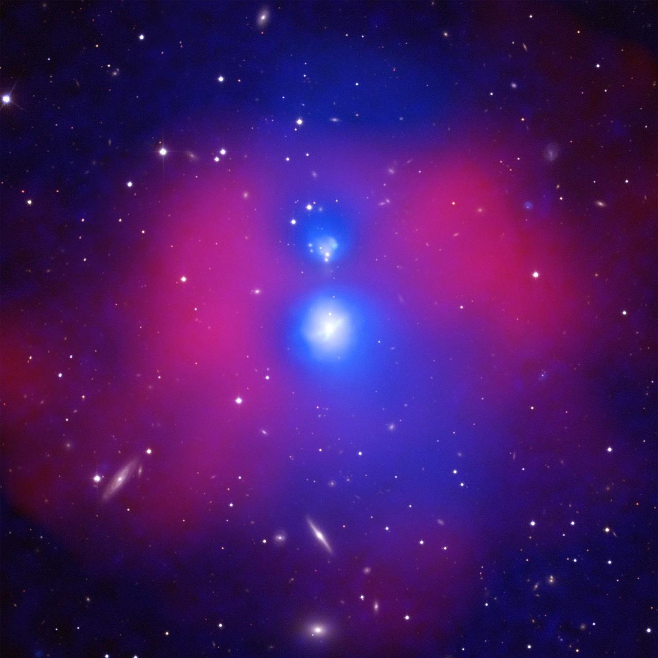 აღმოჩენილია გალაქტიკათა ორი უზარმაზარი ჯგუფი, რომელიც მალე ერთმანეთს შეეჯახება