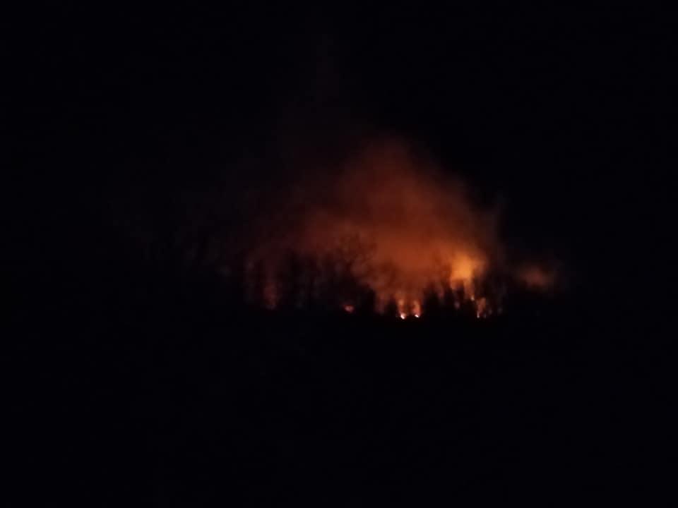 მარტვილში, რამდენიმე სოფლის მიმდებარედ ცეცხლის ახალი კერები გაჩნდა
