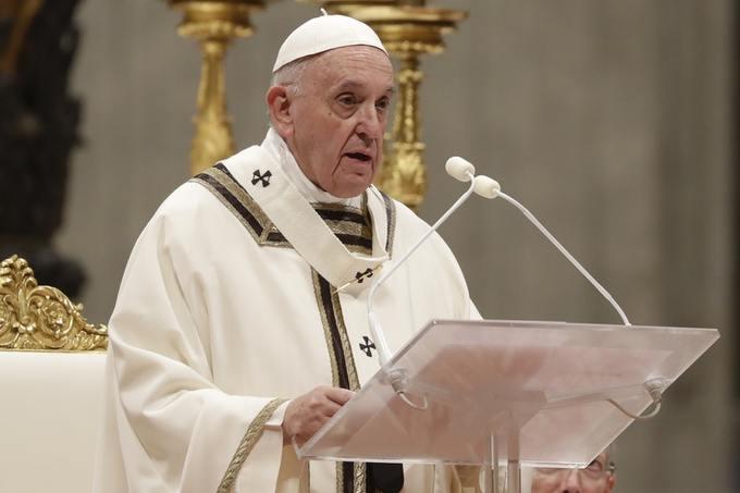 Папа Римский-Рождество напоминает нам, что Бог любит всех одинаково, даже самых худших из нас