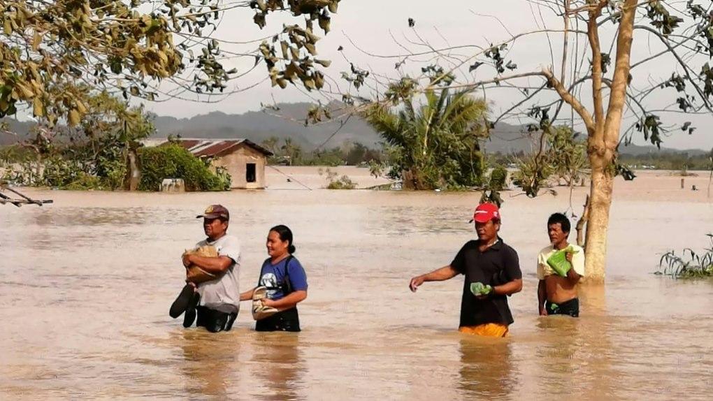 Ֆիլիպիններում թայֆունի հետևանքով զոհվել է առնվազն 10 մարդ