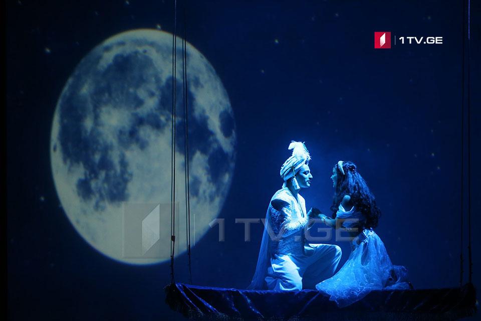 """მოზარდ მაყურებელთა თეატრში """"ალადინის"""" პრემიერა გაიმართა [ფოტო]"""