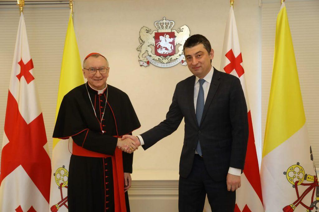 Государственный секретарь Ватикана поздравил премьер-министра Грузии с освобождением доктора Важи Гаприндашвили