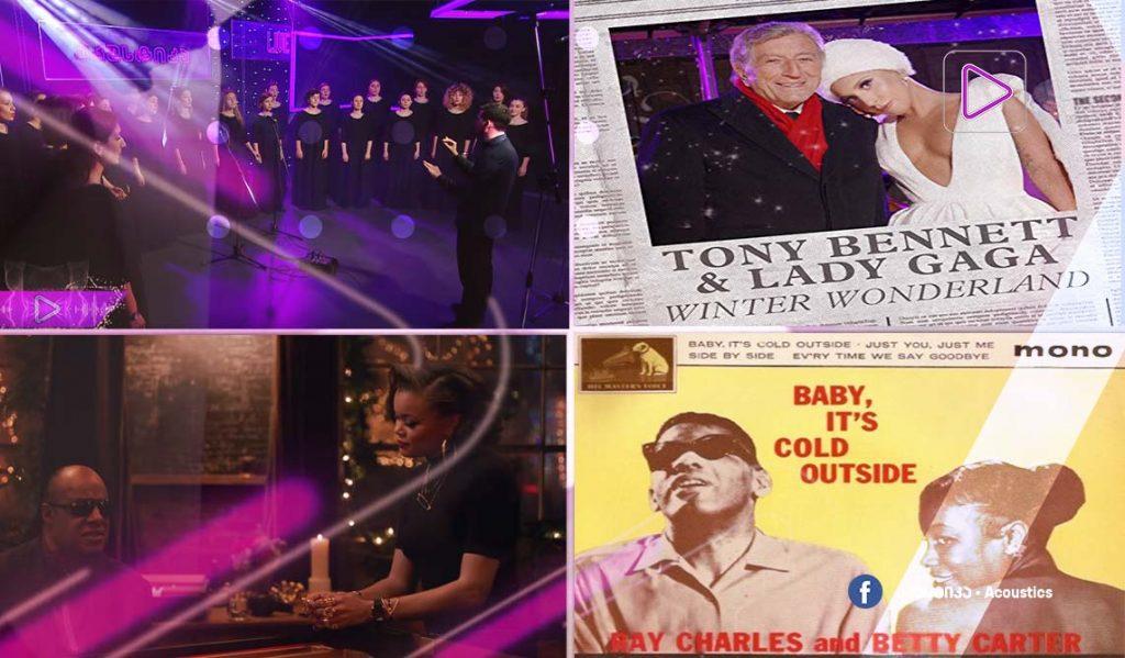 რადიო აკუსტიკა - თბილისის ქალთა გუნდი - საშობაო სიმღერა / სტივი უანდერი და ანდრა დეი - Someday At Christmas
