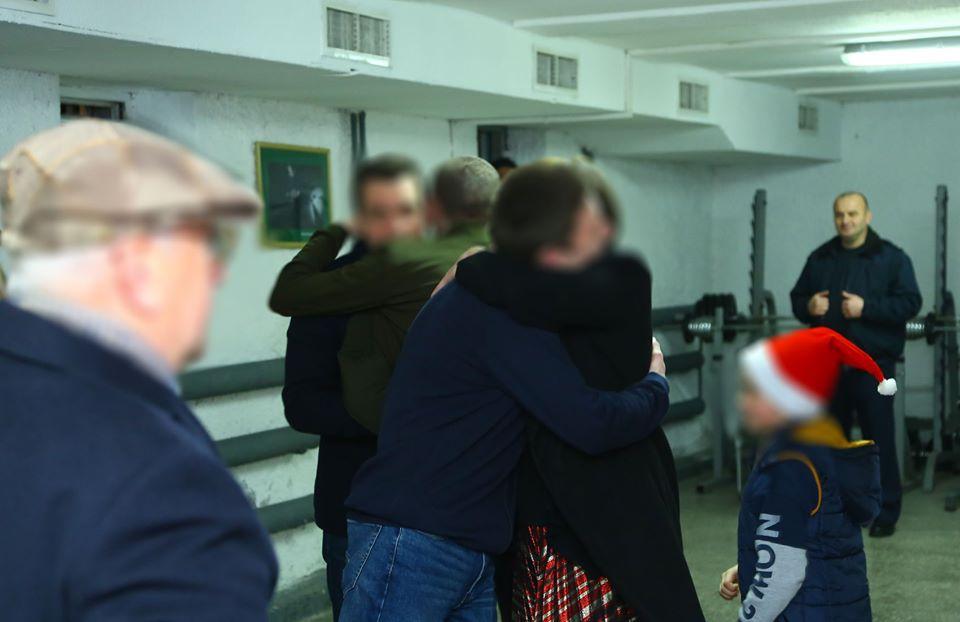 Осужденные пенитенциарного учреждения для несовершеннолетних встретили Новый год вместе с семьями
