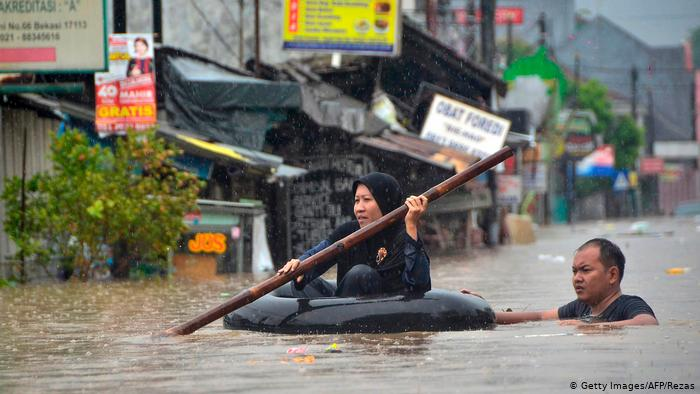 ინდონეზიაში წყალდიდობისას 21 ადამიანი დაიღუპა