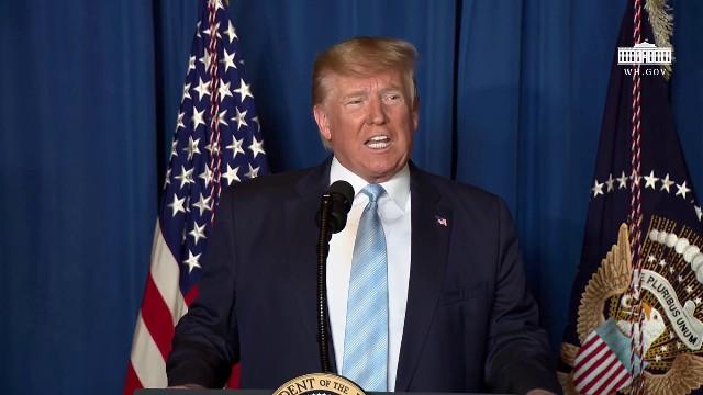 Дональд Трамп - Мы действовали, чтобы остановить войну, а не начать её