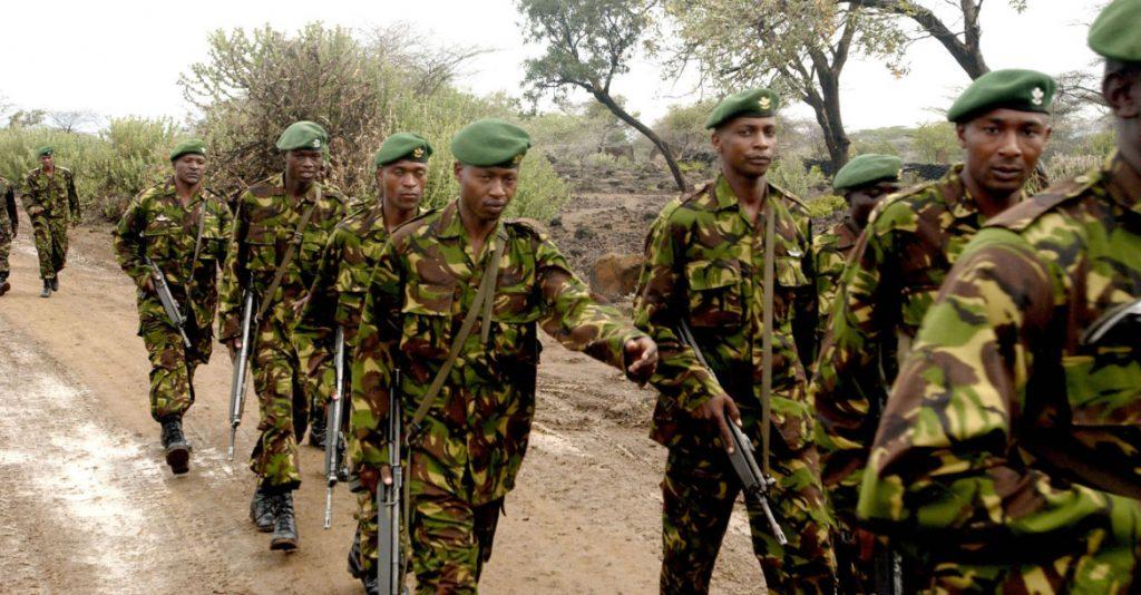 კენიაში სამხედრო ბაზაზე თავდასხმის მოგერიებისას სამხედროებმა ოთხი ტერორისტი მოკლეს