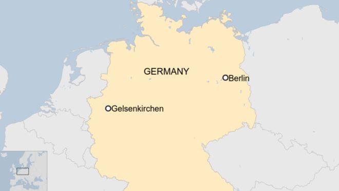 გერმანიაში დანით შეიარაღებული მამაკაცი პოლიციელებს თავს დაესხა
