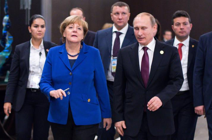 Ангела Меркель встретится с Владимиром Путиным для обсуждения ситуации на Ближнем Востоке