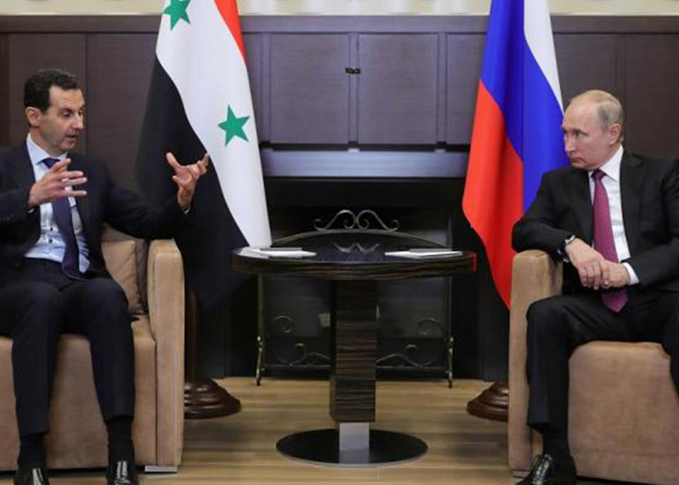 Влaдимир Путин Сириa дaҭaaит