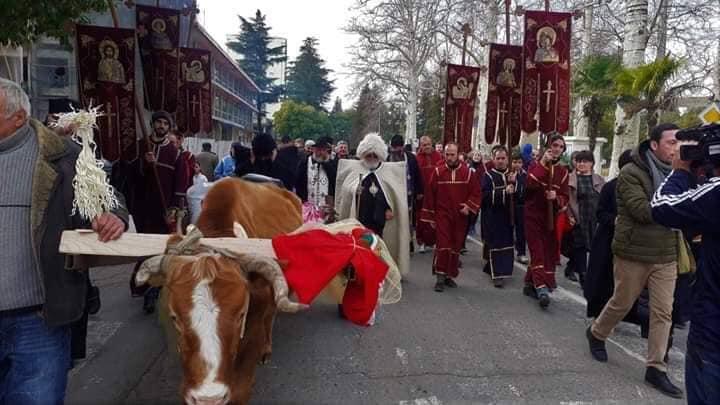 ოზურგეთში ტრადიციული ალილო გაიმართა