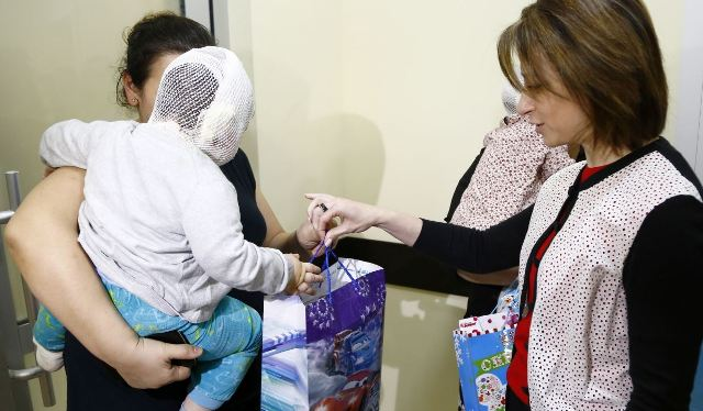 ეკატერინე ტიკარაძემ დამწვრობის ცენტრის პაციენტი ბავშვები მოინახულა