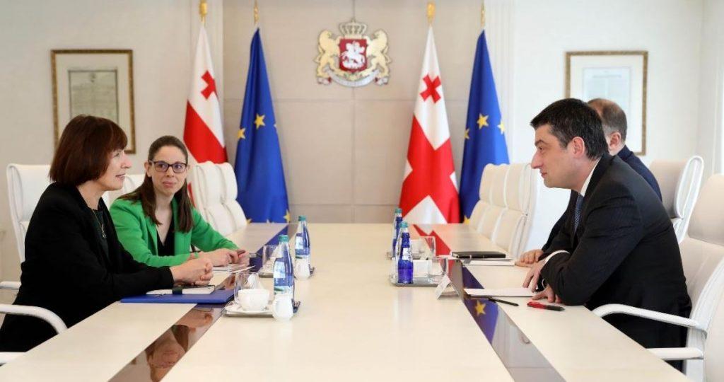 PM met with acting US Ambassador to Georgia