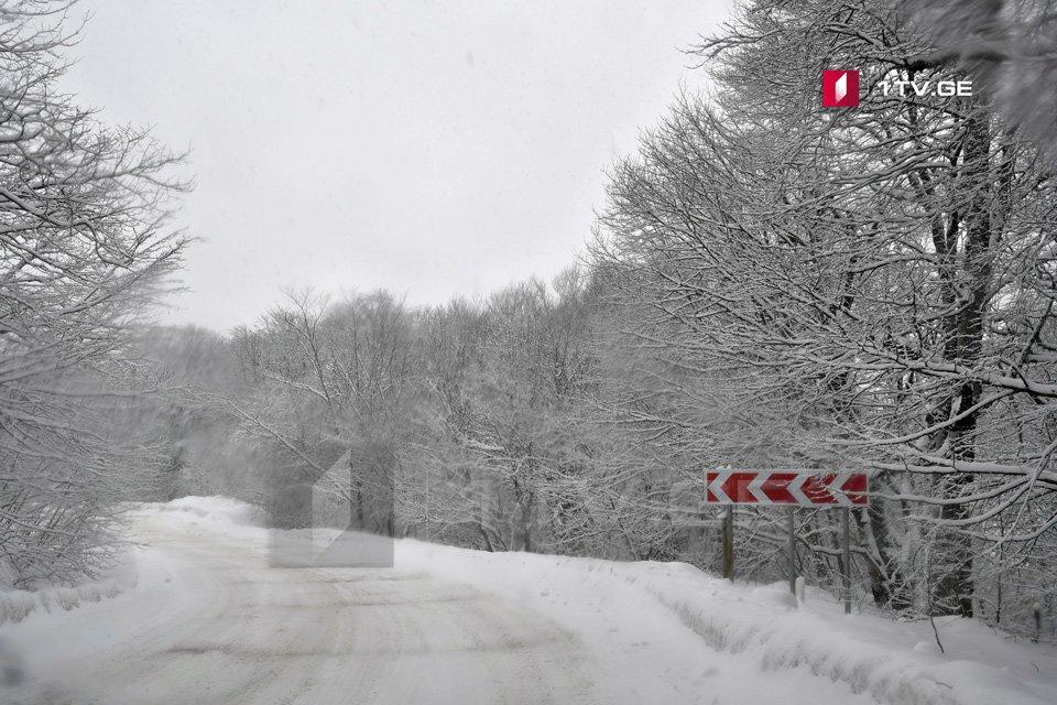 Согласно прогнозам синоптиков, 9-10 января в гористых зонах ожидается снегопад