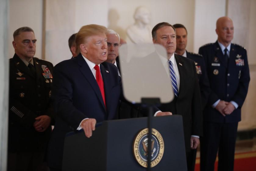 დონალდ ტრამპი - ვიდრე პრეზიდენტი ვარ, ირანს არასდროს ექნება ბირთვული იარაღი