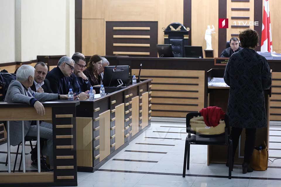 მამუკა ხაზარაძის, ბადრი ჯაფარიძისა და ავთანდილ წერეთლის საქმის განხილვა სასამართლოში მოწმეების დაკითხვით გრძელდება