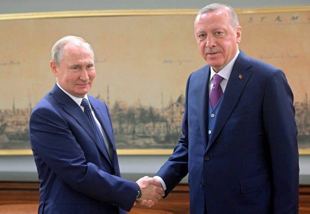თურქეთისა და რუსეთის პრეზიდენტები ლიბიაში ცეცხლის შეწყვეტის ინიციატივით გამოდიან