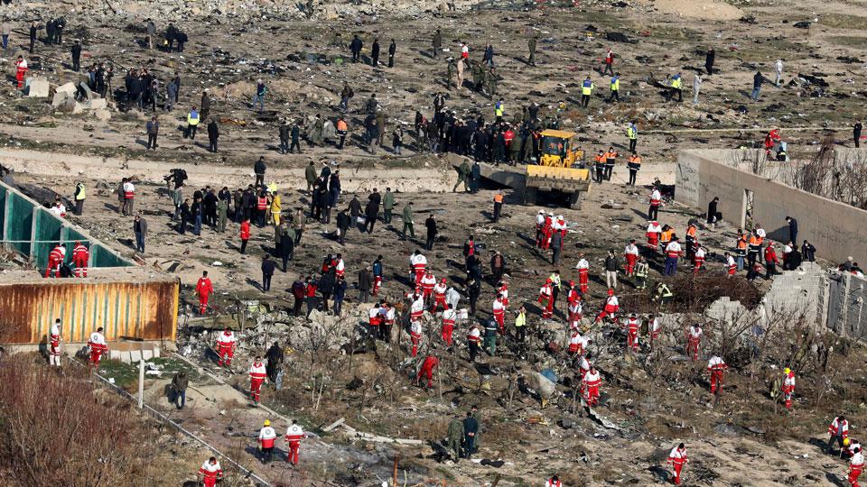 ამერიკული მედია - უკრაინულ თვითმფრინავს ირანის ანტისარაკეტო თავდაცვითი სისტემის მიერ ნასროლი რუსული რაკეტა შეცდომით მოხვდა