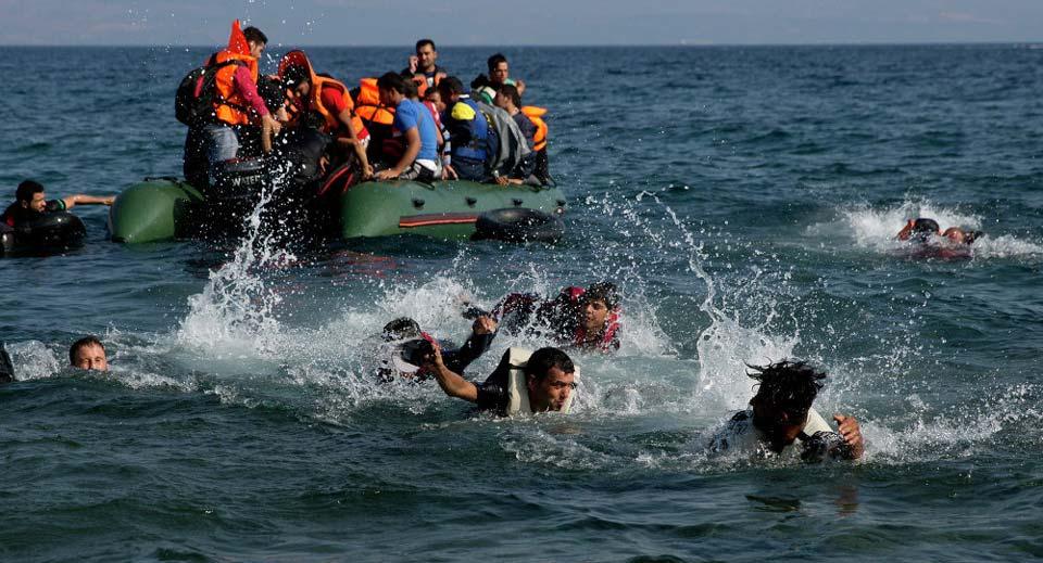 საბერძნეთში მიგრანტების ნავის ჩაიძირა, დაიღუპა 12 ადამიანი