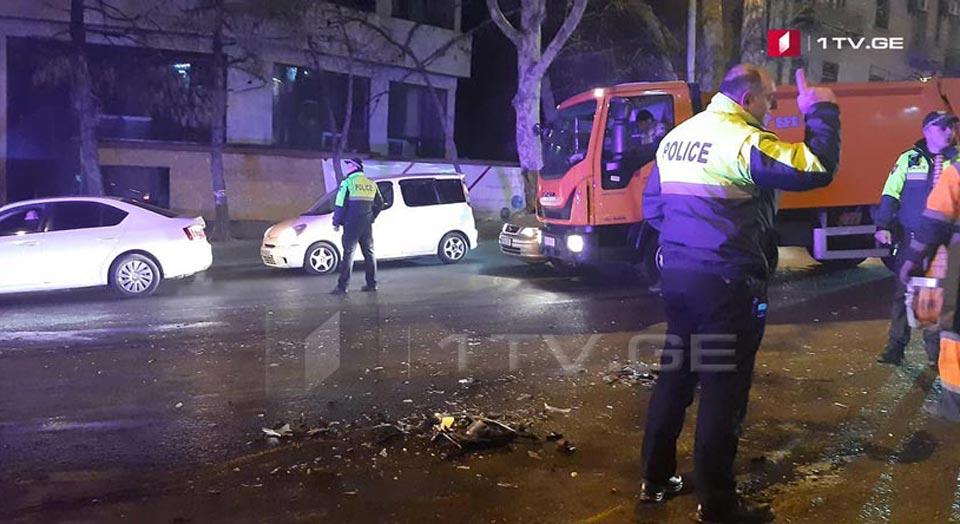 გაგარინის ქუჩაზე ავტოსაგზაო შემთხვევის შედეგად ერთი ადამიანი დაიღუპა