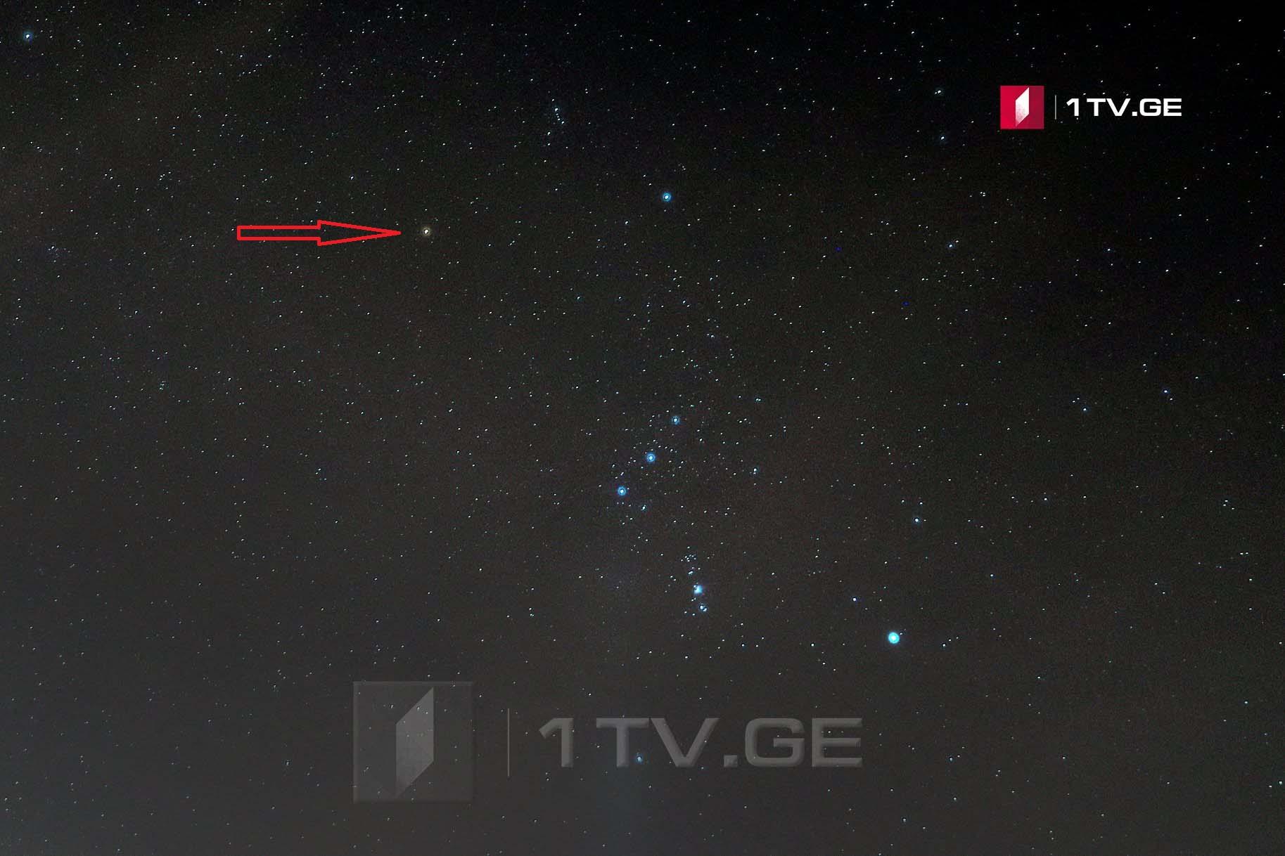 ბეთელგეიზე ირაკლი გედენიძის ასტროობიექტივში — ვარსკვლავი, რომელიც შეიძლება აფეთქდეს