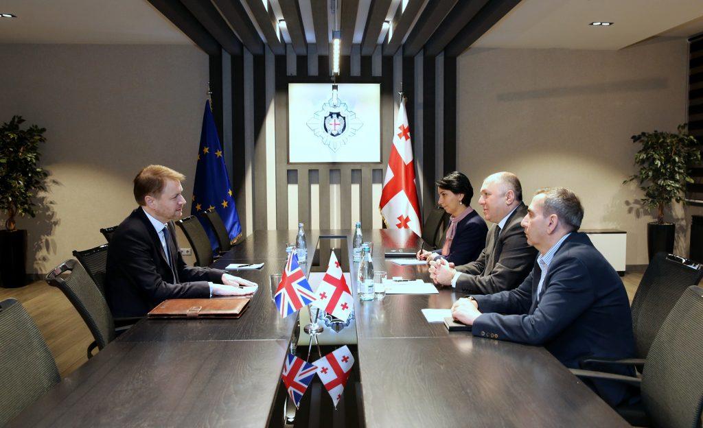 Глава Службы государственной безопасности встретился с послом Великобритании в Грузии