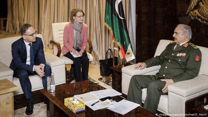 გერმანიის საგარეო საქმეთა მინისტრი - ლიბიის ეროვნული არმიის გენერალი ხალიფა ჰაფთარი ცეცხლის შეწყვეტისთვის მზად არის