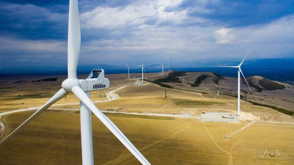 დეკემბერში საბალანსო ელექტროენერგიის 2.3 პროცენტი ქარის ელექტროსადგურმა გამოიმუშავა
