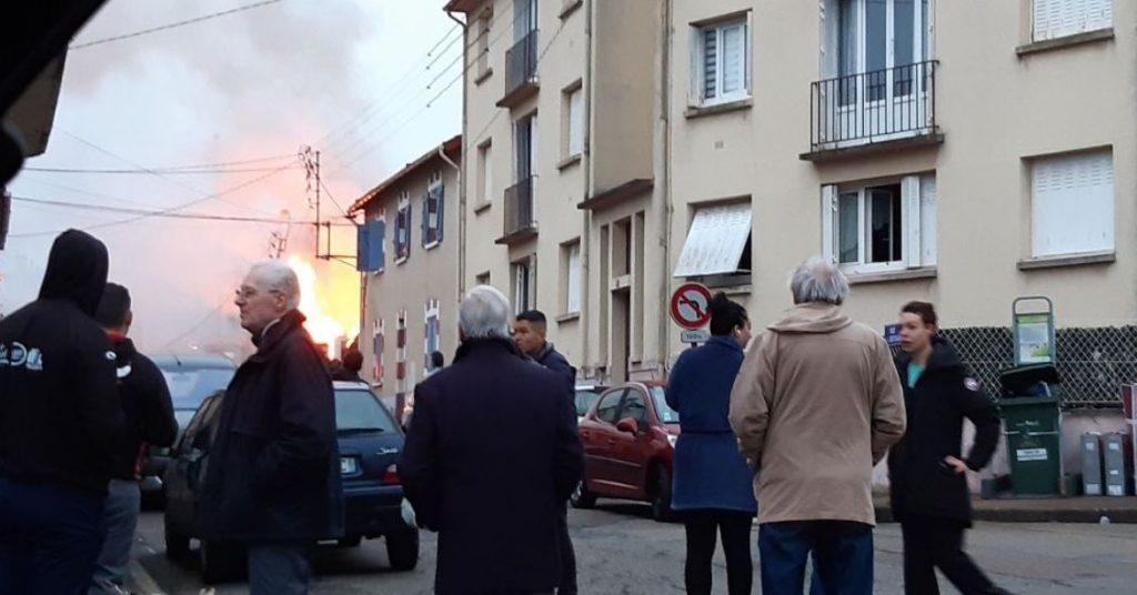 საფრანგეთში, საცხოვრებელ სახლში აფეთქება მოხდა