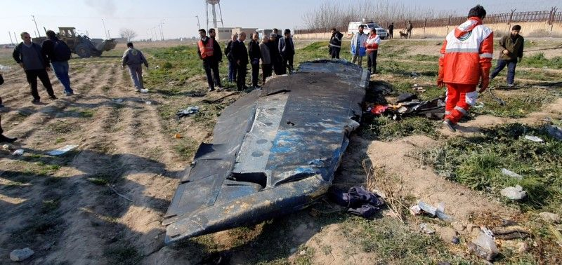 """ირანი ჩამოგდებული თვითმფრინავის """"შავ ყუთებს"""" უკრაინას გადასცემს"""