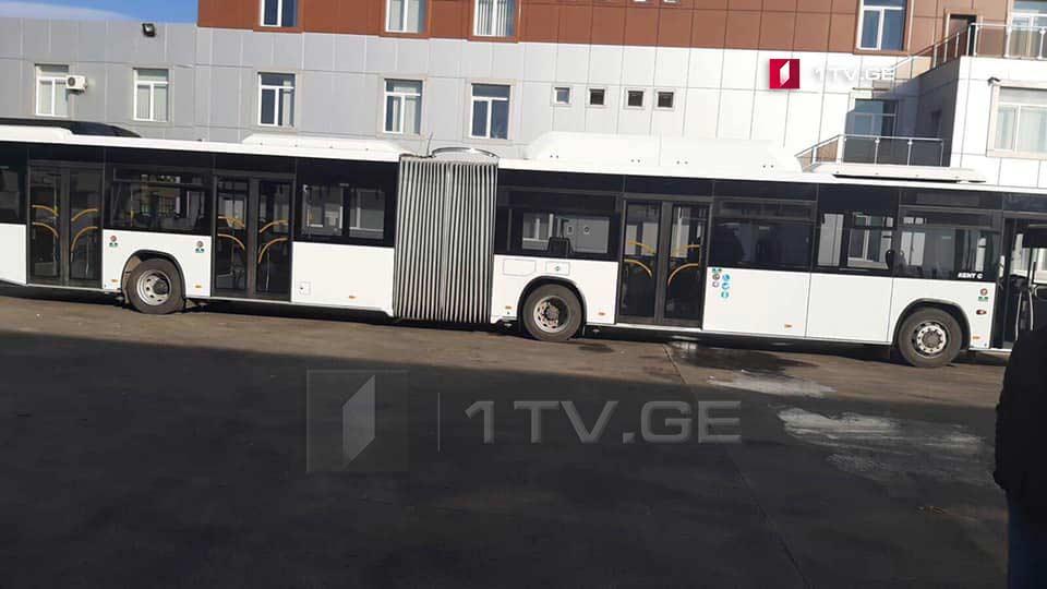 თბილისში, მომავალი კვირიდან 18-მეტრიანი ავტობუსი სატესტო რეჟიმში იმოძრავებს