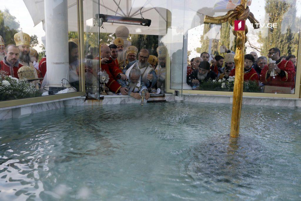 მართლმადიდებელი ეკლესია ნათლისღების დღესასწაულს აღნიშნავს