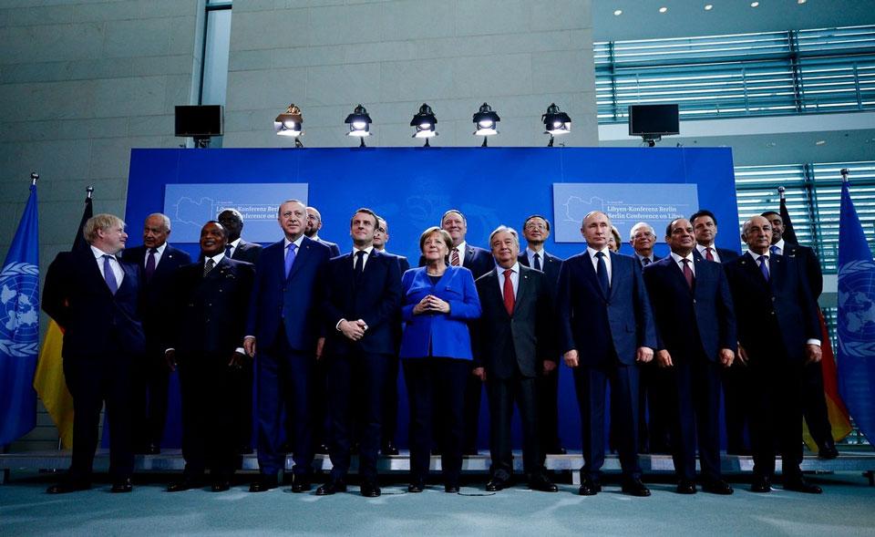 В Берлине проходит международная конференция, где обсуждается кризис в Ливии