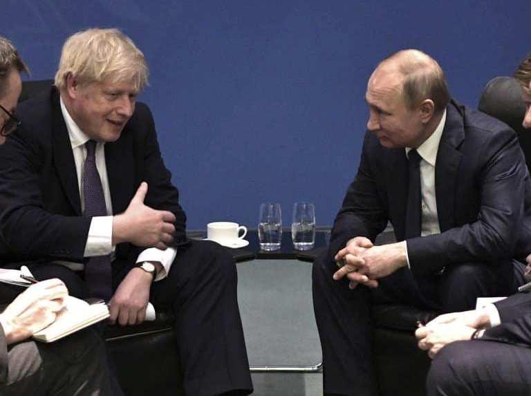 ბორის ჯონსონი - ორმხრივი ურთიერთობების ნორმალიზება მანამდე არ მოხდება, ვიდრე რუსეთი საკუთარ დესტაბილიზაციურ ქმედებებს არ შეწყვეტს