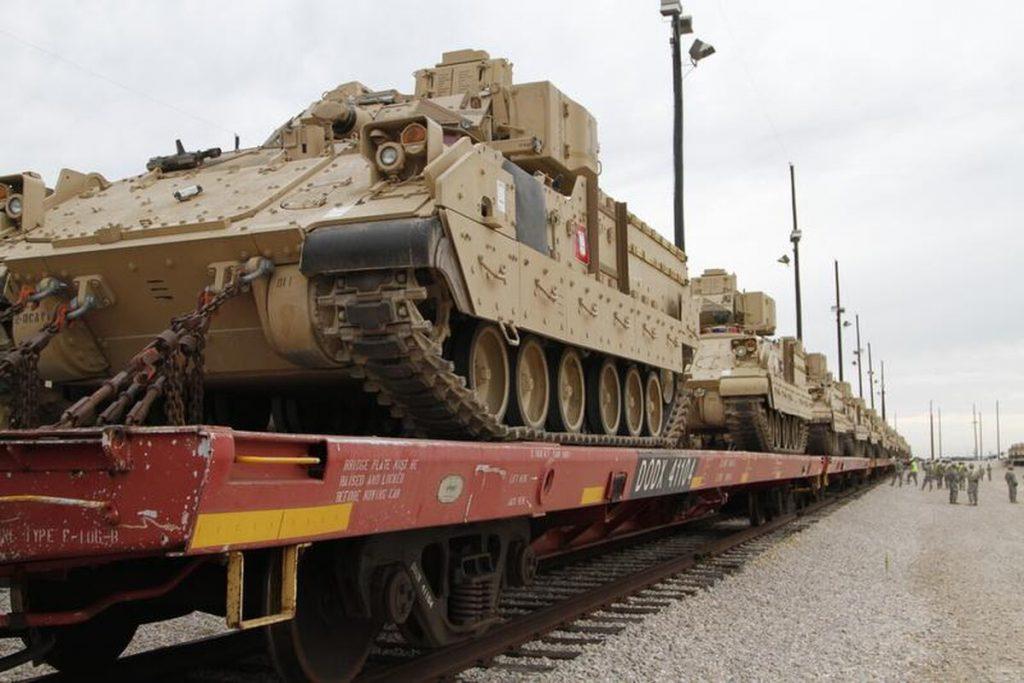 """В рамках """"Защитника Европы 2020"""", начинается размещение военных в странах Балтии, Германии и Грузии"""