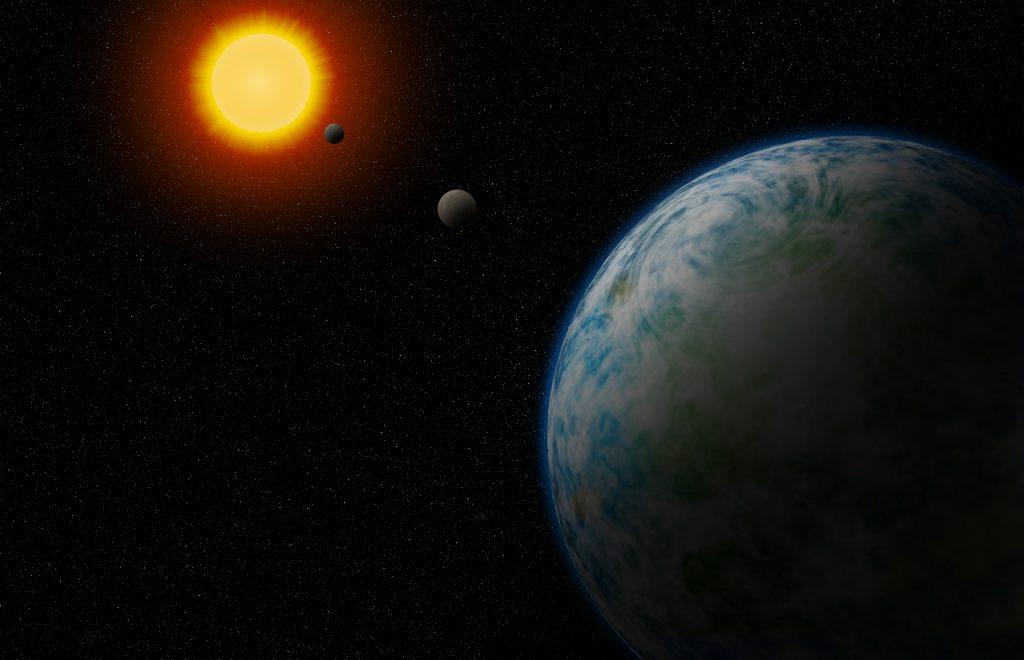 ახლომდებარე ვარსკვლავებთან სიცოცხლისათვის პოტენციურად ხელსაყრელი ორი სუპერდედამიწა აღმოაჩინეს
