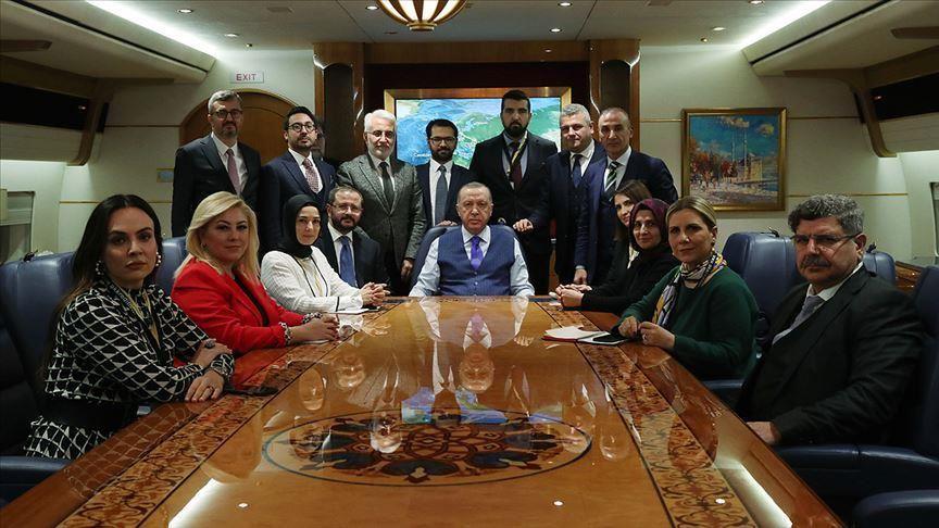 რეჯეფ თაიფ ერდოღანი -ტერორისტ ხალიფა ჰაფთართან ერთად, საერთო მაგიდასთან არ დავჯდები, მე მას დაჯდომის ნებას არ მივცემ