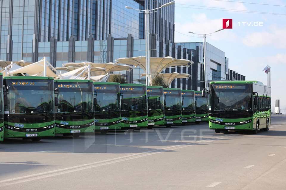 თბილისში მუნიციპალური ტრანსპორტი პირველი ივლისიდან მგზავრებს ჩვეულ რეჟიმში მოემსახურება