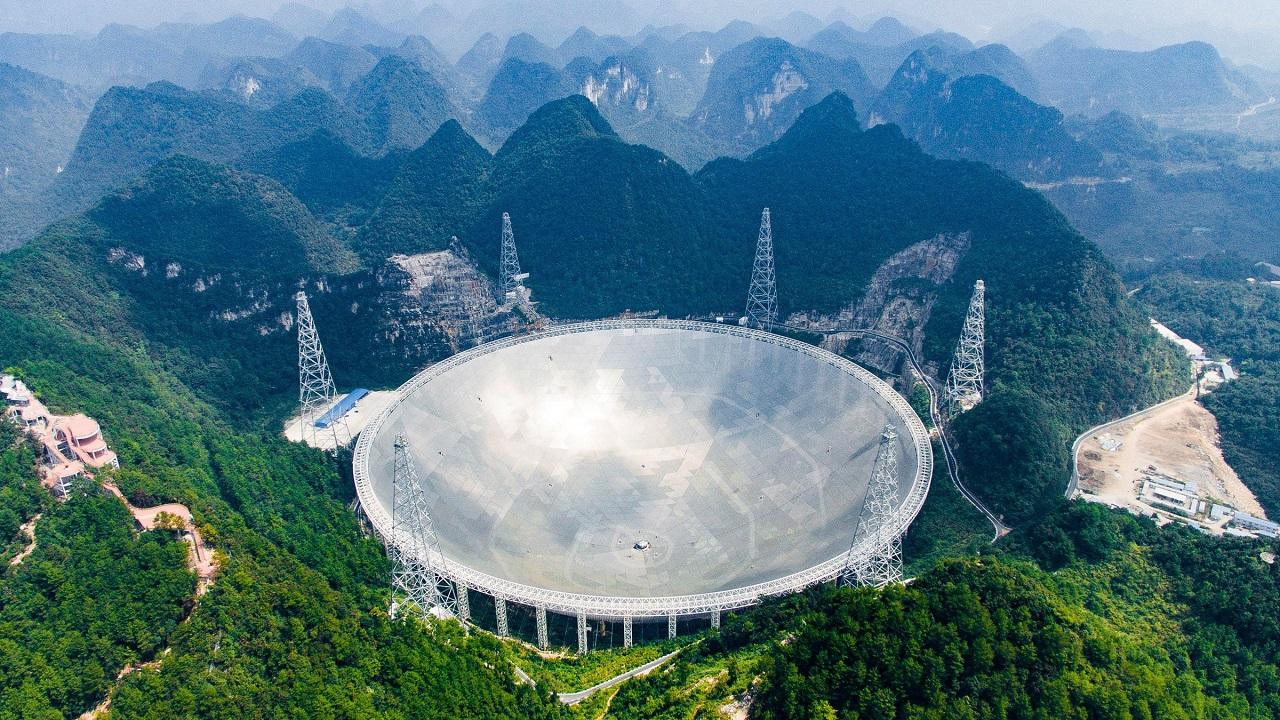 ჩინეთის გიგანტურმა რადიოტელესკოპმა სრულად ფუნქციონირება დაიწყო