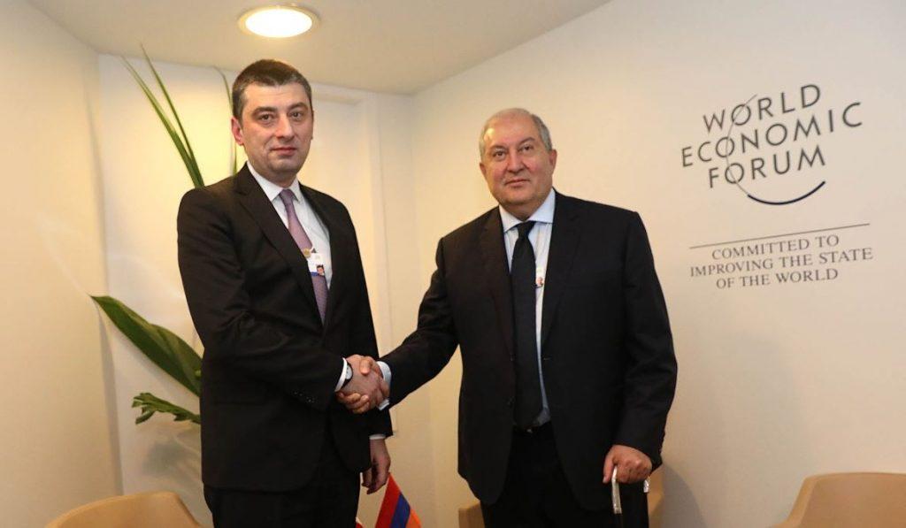 Գիորգի Գախարիան հանդիպել է Արմեն Սարգսյանի հետ