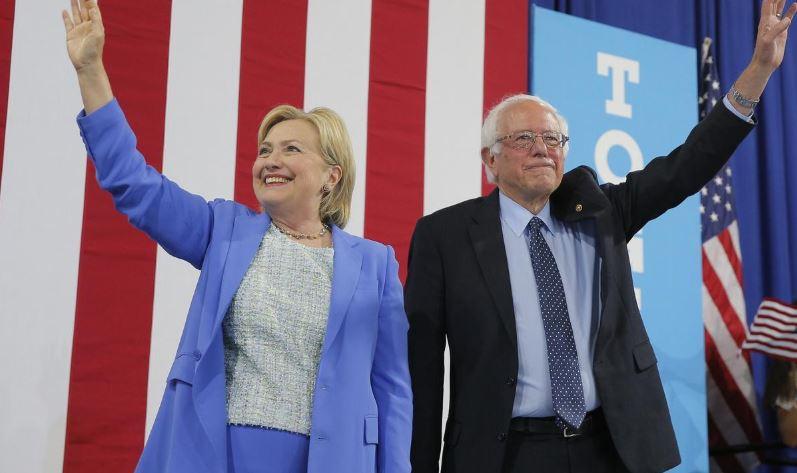 ჰილარი კლინტონმა საპრეზიდენტო არჩევნებში მონაწილე დემოკრატი სენატორი გააკრიტიკა