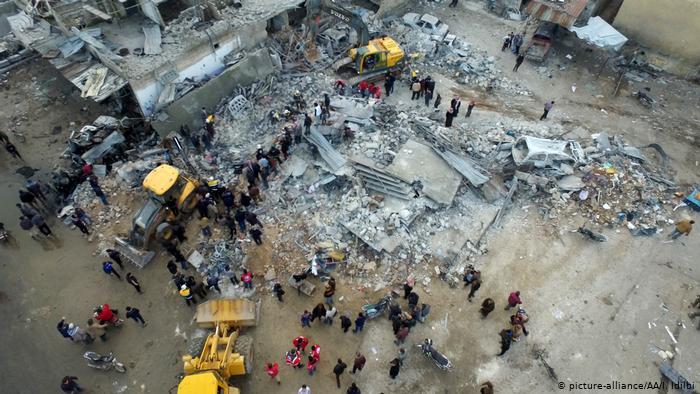 Սիրիայում ավիահարձակումների հետևանքով զոհվել է 18 խաղաղ քաղաքացի