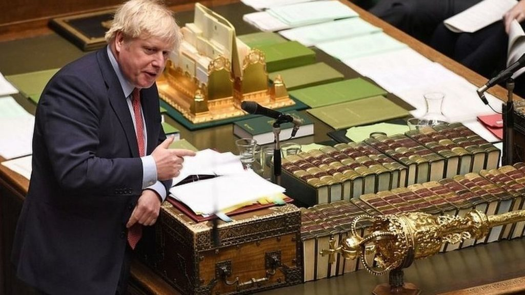 ბორის ჯონსონი აცხადებს, რომ ქვეყანამ ბრექსიტის ფინიშის ხაზი გადაკვეთა და მზად არის, 31 იანვარს ევროკავშირი დატოვოს
