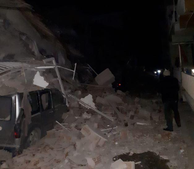 თურქეთში ძლიერი მიწისძვრის შედეგად, სულ მცირე ოთხი ადამიანი დაიღუპა