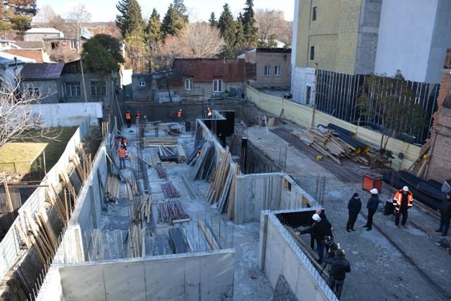 თბილისში, უშანგი ჩხეიძის ქუჩაზე N2 საბავშვო ბაგა-ბაღის რეაბილიტაცია მიმდინარეობს